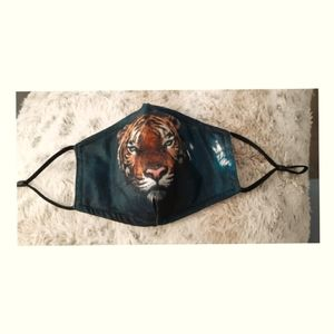 3/$30💥New Tiger Face Mask with 2 filters